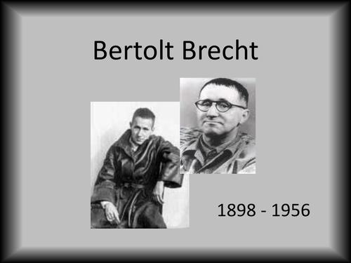 Brecht PowerPoint