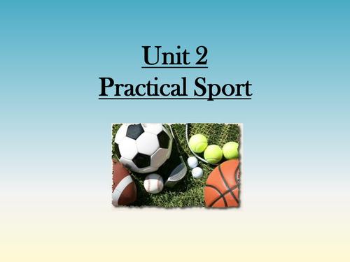 BTEC PE - Unit 2 Practical Sport (Intro PP)