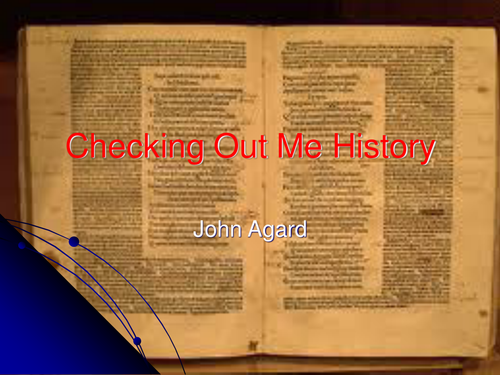 john agard poems dem tell me