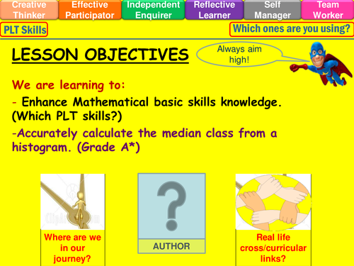 Histograms finding the median class lesson by mistrym03 histograms finding the median class lesson by mistrym03 teaching resources tes ccuart Gallery