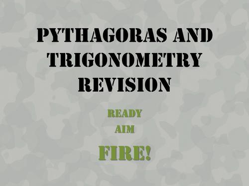 Military Tanks Pythagoras and Trigonometry