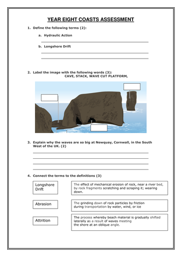 geography assignments documents ks3