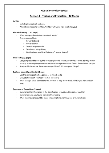 Rules for essay writing
