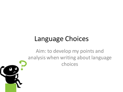 AQA English Language Higher SoW and PPTs/PDFs