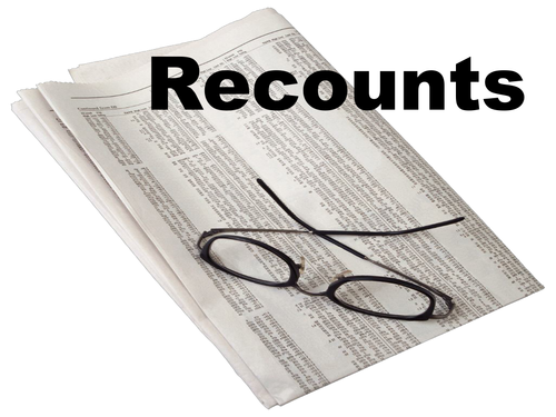 Recounts - PowerPoint Presentation with activities