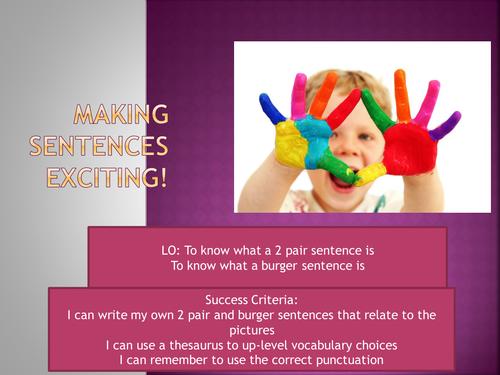 Exciting Sentences