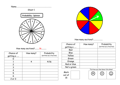 Data and statistics teaching resources: Probability | TES