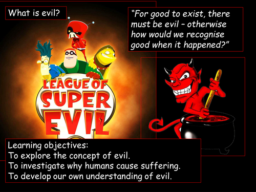 Evil and suffering 2019