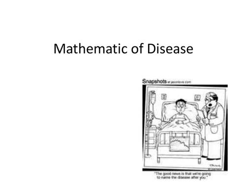 Mathematics of Disease
