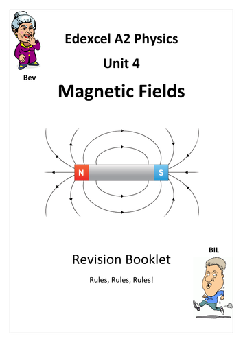 Magnetic Fields Revision Workbook by mattevans123