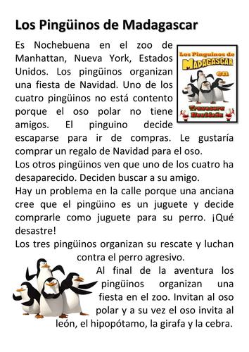Los pingüinos de Madagascar – una misión navideña