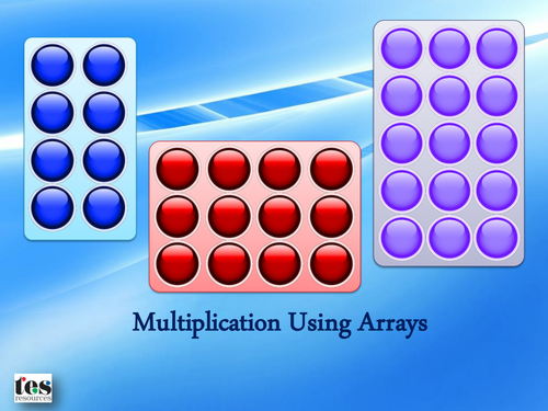 Multiplication Using Arrays by tesSpecialNeeds - Teaching ...