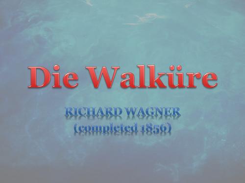 Die Walkure Leitmotifs OCR A2 Music