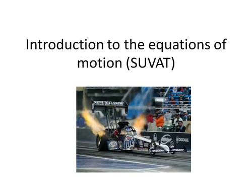 SUVAT Motion Equations Masterclass