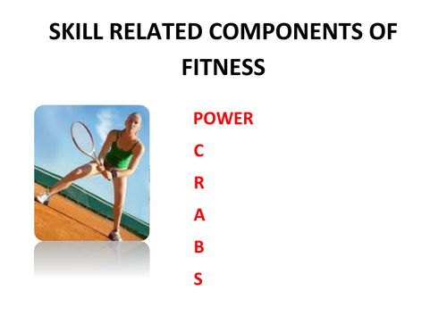 Skill Related Components Of Fitness Practical Book By Edkw2