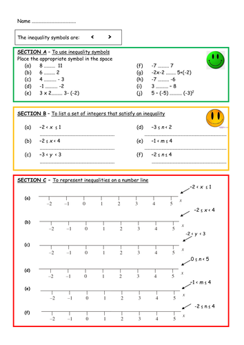 Inequalities by aingarth teaching resources tes ibookread Download