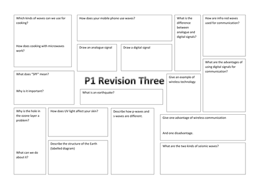 ocr gateway p1 revision sheets by perpetualmotion teaching resources. Black Bedroom Furniture Sets. Home Design Ideas