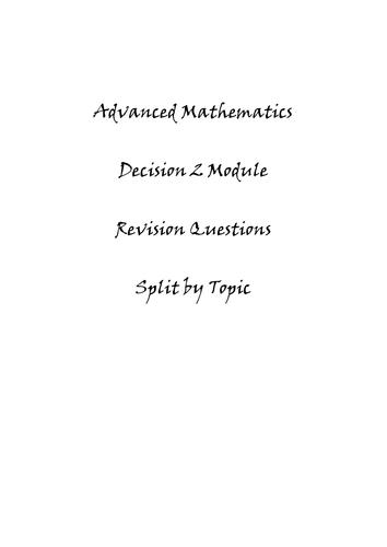 D2 [OCR] revision questions
