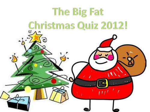 The Big Fat Christmas Quiz 2012