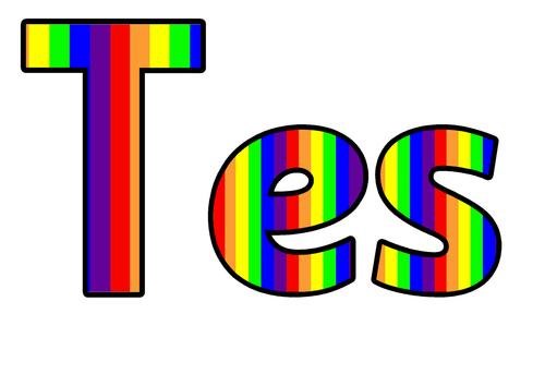 Easy to make Tessellation wall display