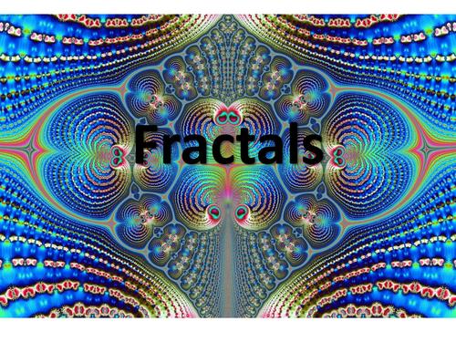 Fractal pop-up cards