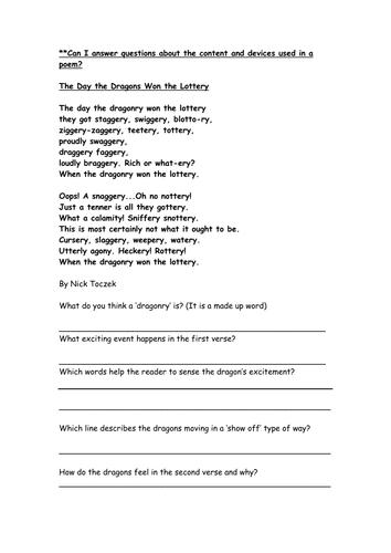 All Worksheets » Poetry Worksheets Grade 8 - Printable Worksheets ...