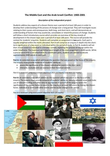 Unit 4 Arab Israeli Conflict Unit 4 Introduction