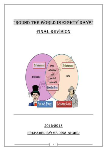 Final Revision on Round the world in eighty days
