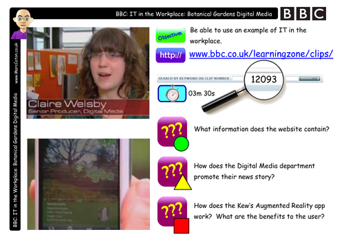 BBC Clip: Watch & Discuss: Kew Gdns Digital Media
