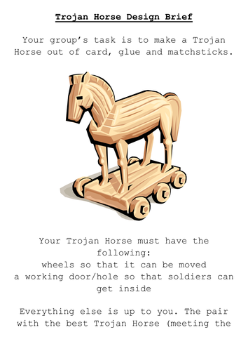 trojan horse and assessment worksheet Primary resources - free worksheets  the trojan horse: a greek myth colour (in browser) black & white colour (pdf.
