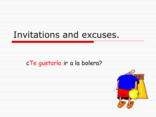 Mira 2 Spanish   - invitations and excuses