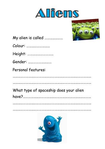 alien alphabet by beddy17 uk teaching resources tes. Black Bedroom Furniture Sets. Home Design Ideas