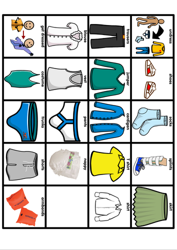 Swimming Dressing Schedule By Jovest Teaching Resources