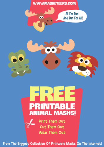 Free Animal Masks