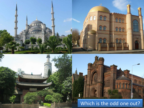 Features of Mosques (including quiz)