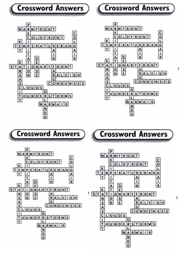 Crossword puzzle by missross89 | Teaching Resources
