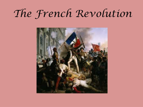 The French Revolution: Cross-curricular