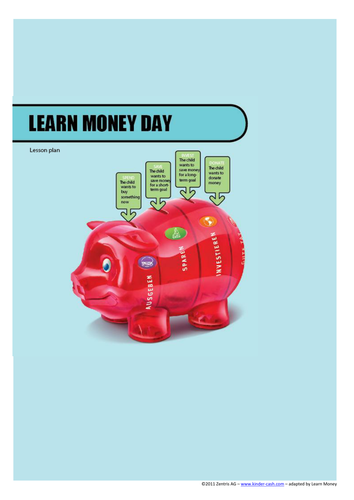 The Piggy Bank - saving, donating and investing