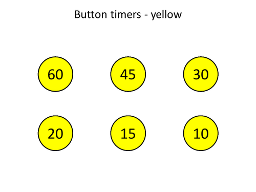 Timers to Add to Powerpoints