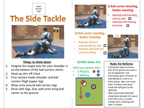 Rugby - Introduction of Tackle