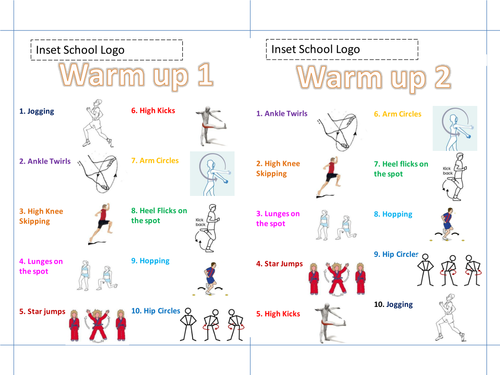 Classroom Warm Up Ideas ~ Back to school warm up ideas tes