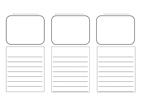 magazine storyboard template - storyboard template by geordieems teaching resources tes