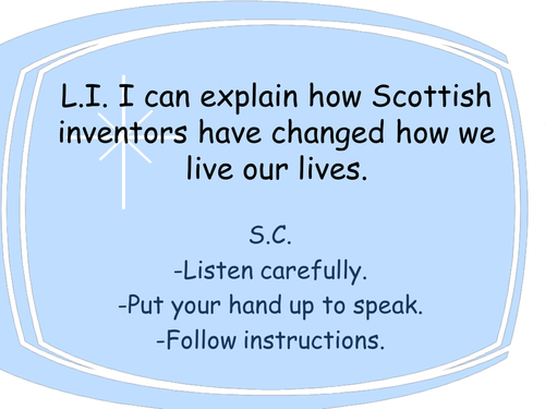 Alexander Graham Bell Ppt And Activity Perfect For Science Week  John Logie Baird  Television Inventor  Scotland