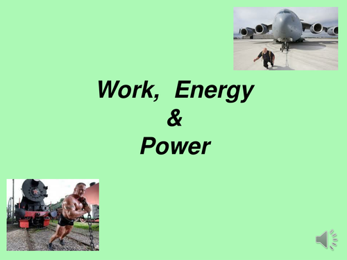 A Level Forces Work Energy Power By Superdean Teaching Resources