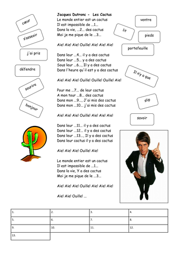 AS French - Music - Jacques Dutronc - Cactus
