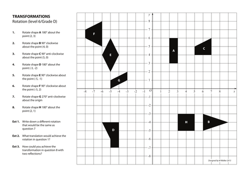Rotation Practice and Revision