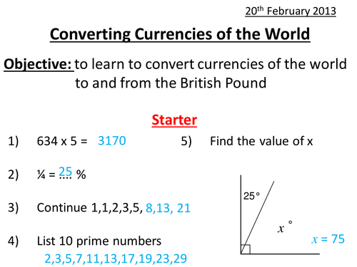 currency conversion test values The basics of currency exchange not all currencies are valued equally – but there's no one central clearinghouse that determines their relative values.
