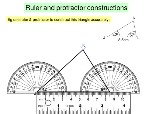 Constructing Triangles by lc23436 Teaching Resources Tes – Constructing Triangles Worksheet
