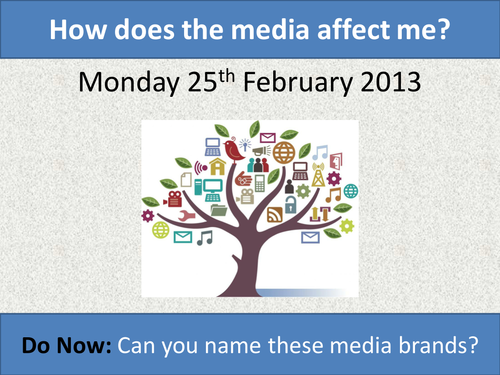 How does media affect me?
