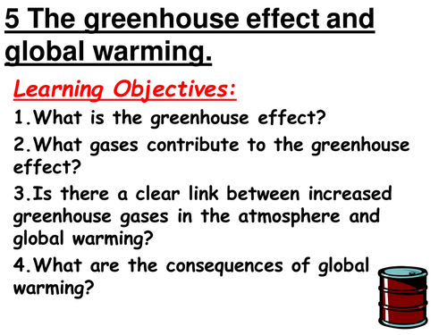The greenhouse effect by Shazbatz Teaching Resources TES – Greenhouse Effect Worksheet